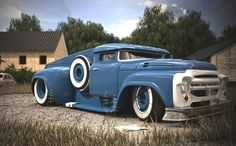 Rat Rods are intended to be driven and enjoyed. In any event, there's a hot rod in the making and you will likely be the sole person at the auto show with a hot rod International semi. Rat Rod Trucks, Rat Rods, Cool Trucks, Big Trucks, Pickup Trucks, Tow Truck, Chevy Trucks, Dump Truck, Semi Trucks