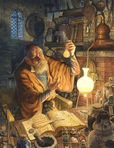 """What Really is Alchemy? Quiz on the basics of an alchemist: """"What is alchemy? Give one example of a cultural alchemist, etc.) Decide as a class if the Alchemist """"taught"""" the boy """"alchemy"""" (first as an actual science, then as a life application). Discuss how monetary desires have transcended into the wealth of a human life and all its experiences. Would we redefine alchemy? Essential Question: What is """"true"""" alchemy? (Riches of life in experiences, growing, meeting people, etc.)"""