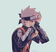 Kakashi - From a Genin to Hokage (Book - Loss of Dear Ones Naruto Kakashi, Anime Naruto, Naruto Cute, Manga Anime, Kakashi Memes, Arte Ninja, Inu Yasha, Anime Lindo, Naruto Series