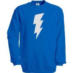 $19.99 Solid Gold Bomb Icon Bolt Crew Neck Sweatshirt