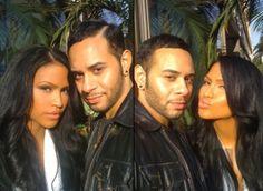 Cassie and stylist Cesar Ramirez