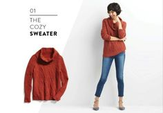 Love the look, would like a different color (depending on price point). Stitch Fix Leo and Nicole, Cyprus Cowl Neck Pullover