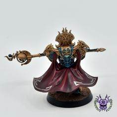 Thousand sons (Tzeentch) - Sorcerer #ChaoticColors #commissionpainting #paintingcommission #painting #miniatures #paintingminiatures #wargaming #Miniaturepainting #Tabletopgames #Wargaming #Scalemodel #Miniatures #art #creative #photooftheday #hobby #paintingwarhammer #Warhammerpainting #warhammer #wh #gamesworkshop #gw #Warhammer40k #Warhammer40000 #Wh40k #40K #chaos #warhammerchaos #warhammer40k #tzeentch #thousandsons #Sorcerer Thousand Sons, Warhammer 40000, Tabletop Games, Gw, Miniatures, Creative, Painting, Board Games, Painting Art