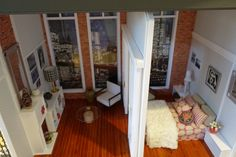 DIORAMA ESCAL 1/6  LOFT MANHATTAN