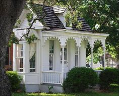 This is a cubby house, how gorgeous is that!!!