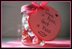 valentine's day, give a kiss get a kiss