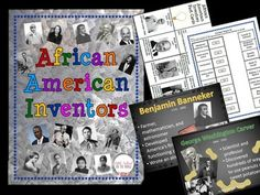 What a great way to teach students about African American inventors! This BUNDLE contains a complete unit with an accompanying presentation. The unit contains: Fact Cards for:o Patricia Batho Benjamin Bannekero Sarah Booneo Marie Browno George Washington Carvero George Crumo Mark Deano Charles Drewo Philip Emeagwalio Sarah E.Goodeo Lonnie G.