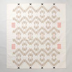 Meg Callahan Flax Quilt in House+Home FURNITURE Terrain Collective at Terrain