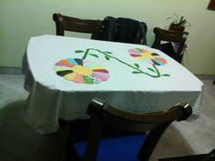 Flores en patchwork