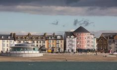 A view of Aberystwyth from the sea Guardian
