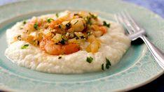 Shrimp & Mashed Cauliflower