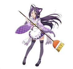 Online Anime, Online Art, Sword Art Online Yuuki, Sao Anime, Neko Ears, Anime Maid, Anime Animals, Female Character Design, Best Waifu