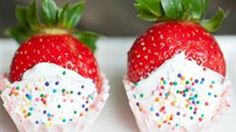 We all know strawberries and Champagne go together like peanut butter and jelly. But have you ever thought of Champagne-soaked Strawberries?! I know, right? Amazing.