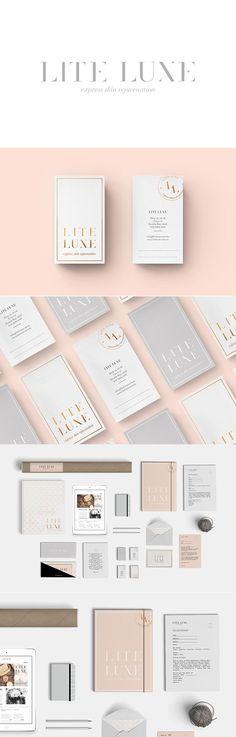 Smack Bang Designs for women's skin rejuvenation service 'Lite Luxe'.