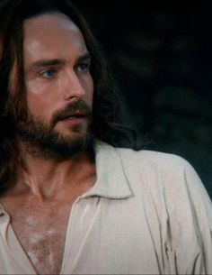 I am officially volunteering to be Tom Mison's sweat applier.