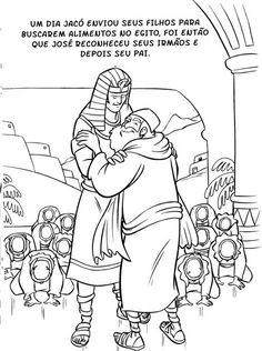 ALGUNS DESENHOS E ATIVIDADES PARA A HISTORIA DE JOSÉ,  encontrei no site SEMENTINHA KIS