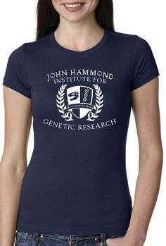 Women's Dinosaur Institution for Genetic Research T Shirt movie tee for women M Crazy Dog Tshirts http://www.amazon.com/dp/B00FPY8PS0/ref=cm_sw_r_pi_dp_vIMRtb1VC4B0DXAS
