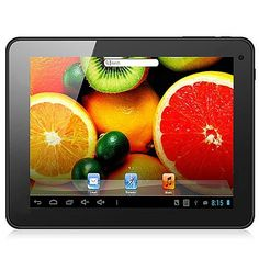 IPPO U8GT MID Tablet PC 8 Inch Quad Core Android 4.1 IPS Screen 1G RAM Dual Camera Color White