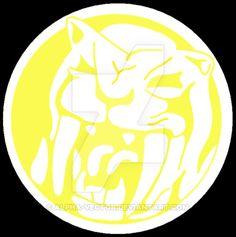 ZyuRanger - Saber-Tiger Symbol by Alpha-Vector on DeviantArt Pawer Rangers, Power Rangers Dino, Mighty Morphin Power Rangers, Power Ranger Party, Kamen Rider, Crossstitch, Superhero Logos, Cartoon Characters, Cool Art