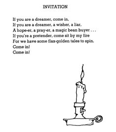 Loved this so much it was the intro to my senior recital in college. (there's a CD out of his narrations!)  Poem by Shel Silverstein