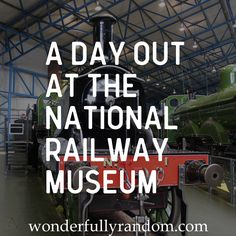 Review of National Railway Museum, York, Yorkshire. Days out with toddlers, family days out, kids days out.