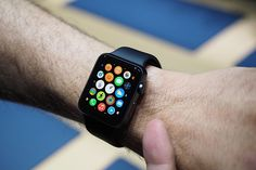 Apple Watch marks Apple's foray into wearable technology. Let's have a deeper look at the Apple Watch and why it could be an exciting gadget to own. Smartwatch, Cool Technology, Wearable Technology, Technology Updates, Mobile Technology, Xbox, Apple Watch Apps, Smartphone, Ios 11