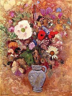 Odilon Redon:Bouquet Of Flowers