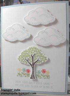 Sprinkles of Life Cloud Card