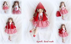 Red Riding Hood (50cm) Doll for play  by kymeli ...