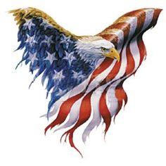 Eagle American Flag by Mychristianshirts on Etsy