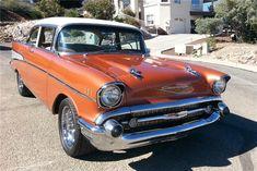 1957 CHEVROLET BEL AIR 2 DOOR POST - Barrett-Jackson Auction Company - World's Greatest Collector Car Auctions