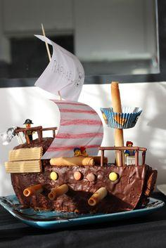 Gateau anniversaire pirate -aunomi / Pirates Birthday Cake
