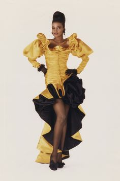 Kadhija in Emanuel Ungaro, Fall/Winter, 1987