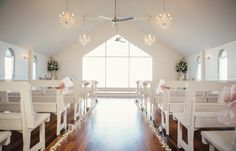 Gorgeous ceremony space
