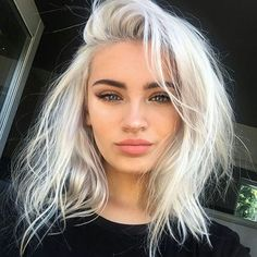 Lace Frontal Gray Wig Black Girl Real Human Hair Wigs Beauty Wigs Hairdo Hair Extensions 14 16 18 Body Wave With Closure Pretty Hairstyles, Wig Hairstyles, Hairstyle Ideas, Updo Hairstyle, Wedding Hairstyles, Hair Inspo, Hair Inspiration, White Blonde Hair, Icy Blonde