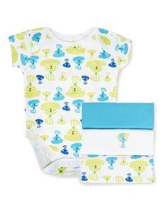 4 Pack Dog Print Bodysuits | Baby | George at ASDA