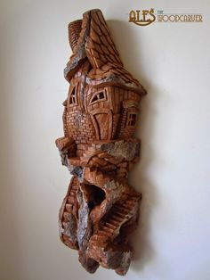 Ales the woodcarver: Carvings for ''A village not far from here''