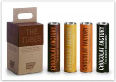 Scatole di cioccolato: graphic design per confezioni regalo