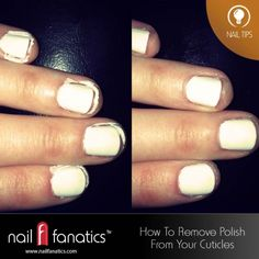 5 Tips For Removing #NailPolish From Your Cuticles
