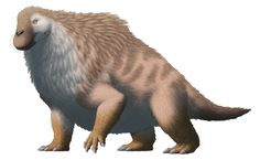 "alphynix: "" Moschops is one of the few synapsids that the general public may actually have heard of (aside from Dimetrodon, of course), due to being frequently included in childrens' books about prehistoric animals, along with being the star of a..."