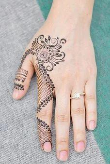 Image Page 93346 Finger Mehendi Designs, Stylish Mehndi Designs, Mehndi Designs Book, Mehndi Designs 2018, Mehndi Design Pictures, Mehndi Designs For Girls, Mehndi Designs For Beginners, Mehndi Designs For Fingers, Dulhan Mehndi Designs