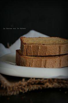 cake053 Cake au sirop d'érable, glaçage au sucre muscovado