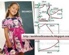 Cele mai simple tipare de croitorie pentru tunici și rochii de vară - Fasingur