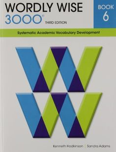 348 best school curriculum ideas images on pinterest homeschool wordly wise 3000 book 6 systematic academic vocabulary development by kenneth hodkinson http fandeluxe Image collections