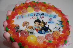 Tarta chuches cumpleaños, Patrulla Canina Birthday Cake, Desserts, Food, Paw Patrol, Tailgate Desserts, Deserts, Birthday Cakes, Essen, Postres