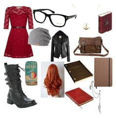 """New School"" by junoeclipse ❤ liked on Polyvore"