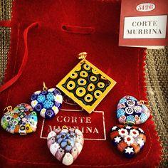 Novy tovar dorazil  ❤️✨#handmade #italian #heart #pendant #murano #glass #sperky #nahrdelnik #brno #czechgirl #fashion #happy #summer