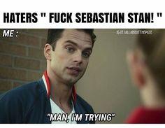 Man, I'm trying....Sebastian ⭐ Stan