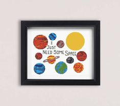 Solar system cross stitch pattern Everyone has always said the solar system needs a little more sass. Pattern includes: - PDF pattern, black and white symbols with DMC colors map - PDF pattern, symbols over colors with DMC colors map - 16 DMC colors - 150 x 180 stitches - 27 cm x