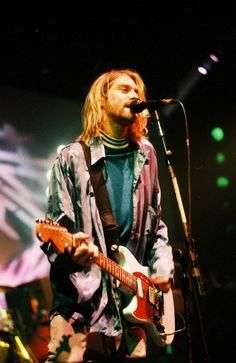 Singer and songwriter for Nirvana and grunge icon.